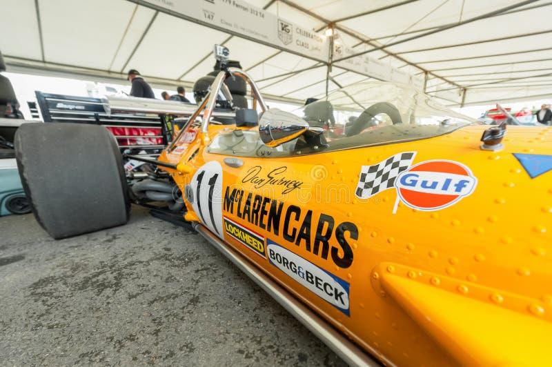 McLaren classico F1 immagine stock