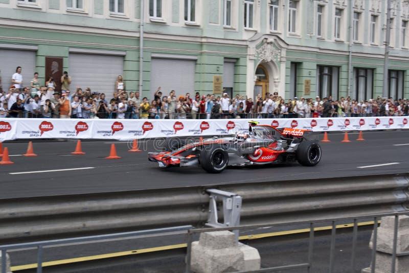 McLaren formula one team royalty free stock photos