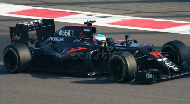 McLaren Honda Grand Prix F1 2016 stock image