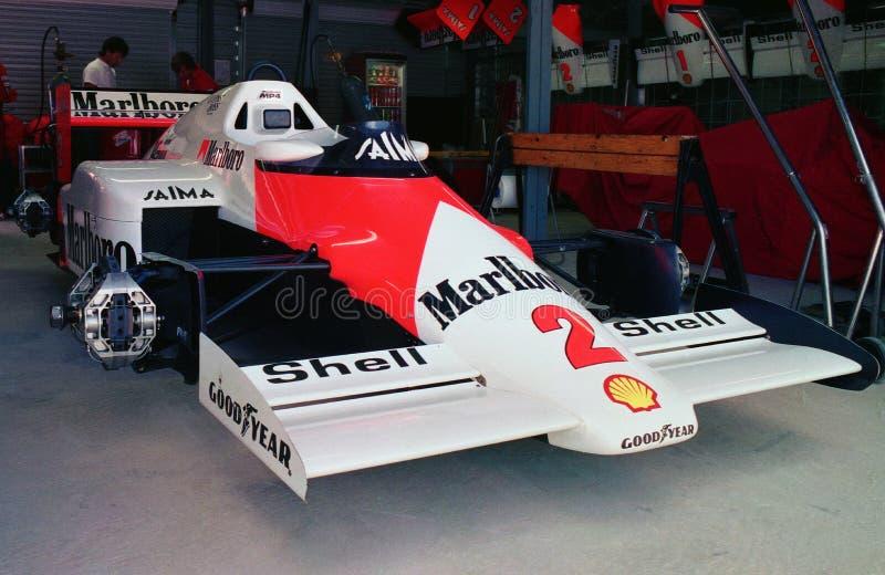 McLaren klaar voor oorlog! stock fotografie
