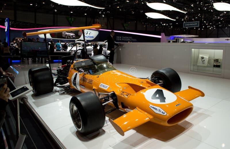 McLaren M7A стоковая фотография rf