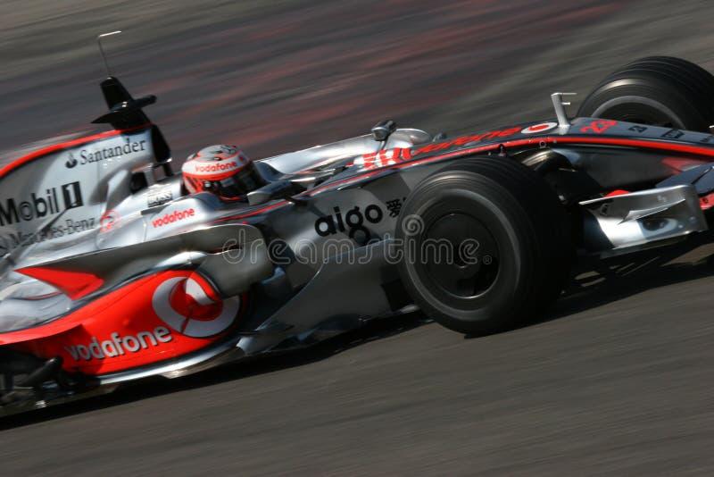 Mclaren mercedes F1 royalty free stock photography