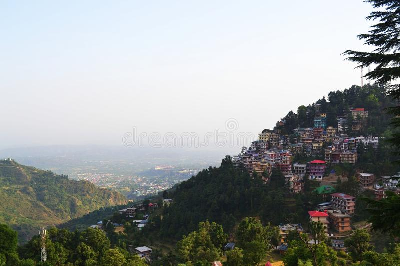 McLeodganj royalty free stock image