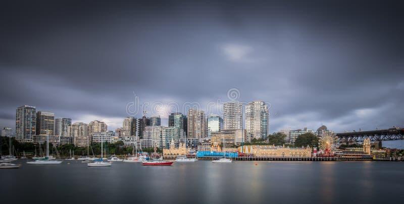 McMahons punkt Sydney royaltyfri fotografi