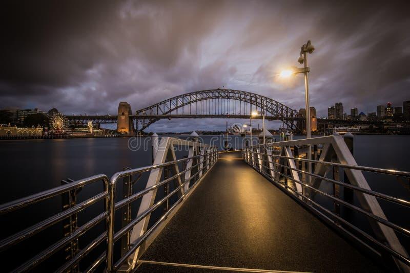 McMahons punkt Sydney royaltyfria bilder