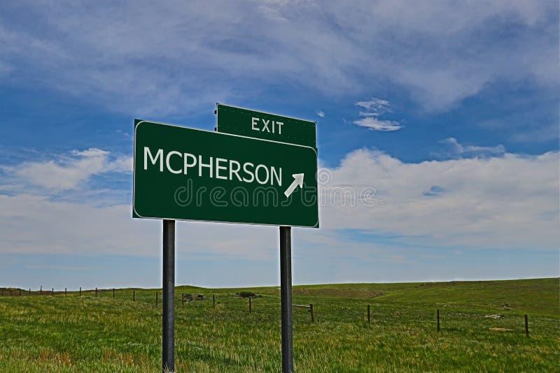 Mcpherson fotografia stock libera da diritti