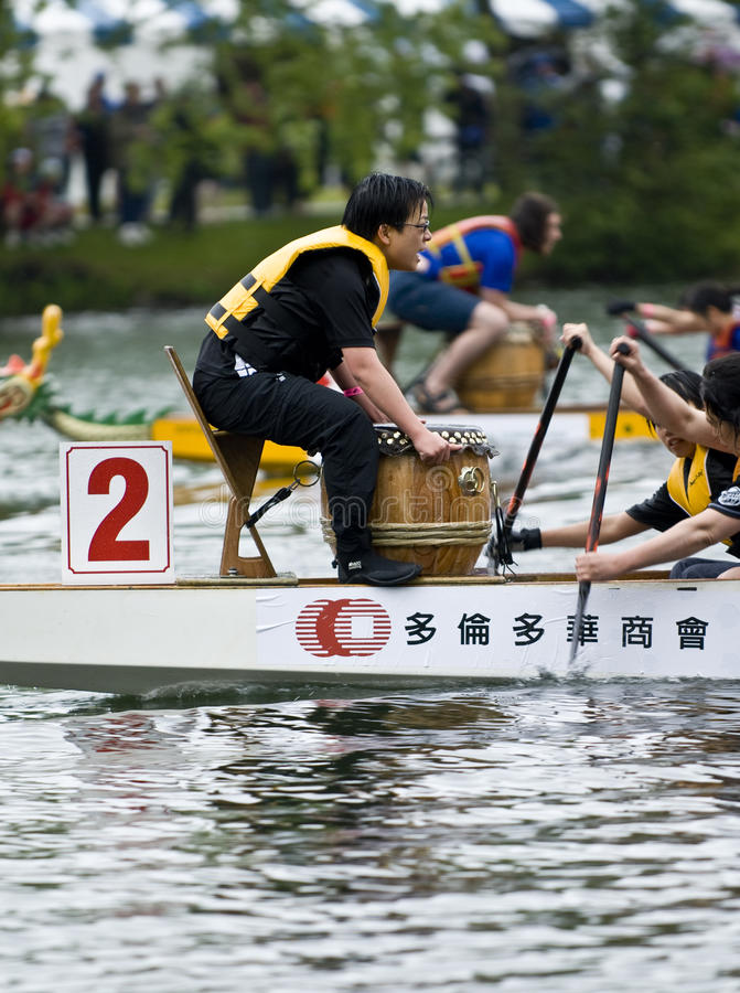 Download MCVA Dragon Boat Racing At The21st TELUS Editorial Photography - Image of boat, crew: 21460857