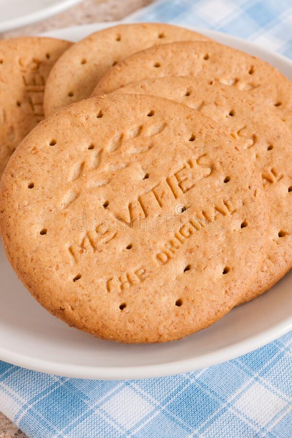 Free McVities Digestive Biscuits Royalty Free Stock Photos - 174540618