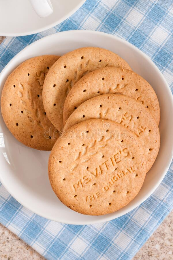 Free McVities Digestive Biscuits Stock Images - 174540944