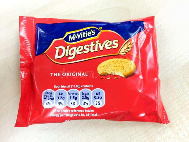 McVities digestives biskwitowi obraz royalty free