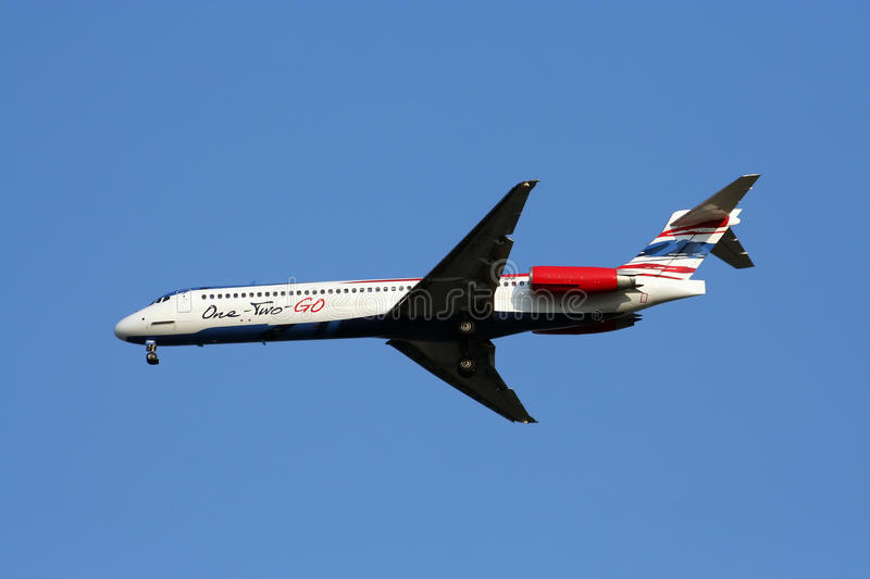 Download MD-80 12GO airline editorial photography. Image of aerospace - 26566212