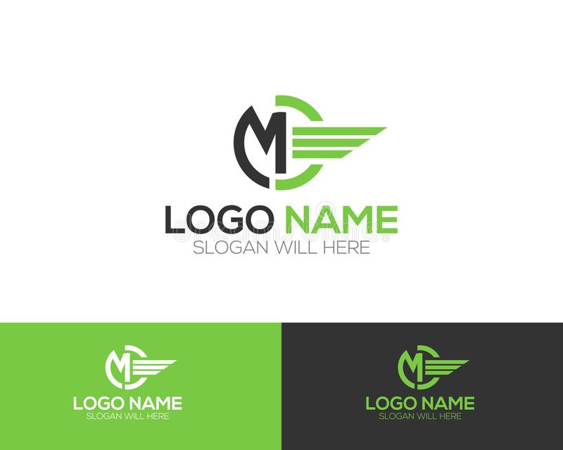 MD Letter Logo Template online store vectors illustration. This is very easy to use. U ca Use as your won simply vector illustration