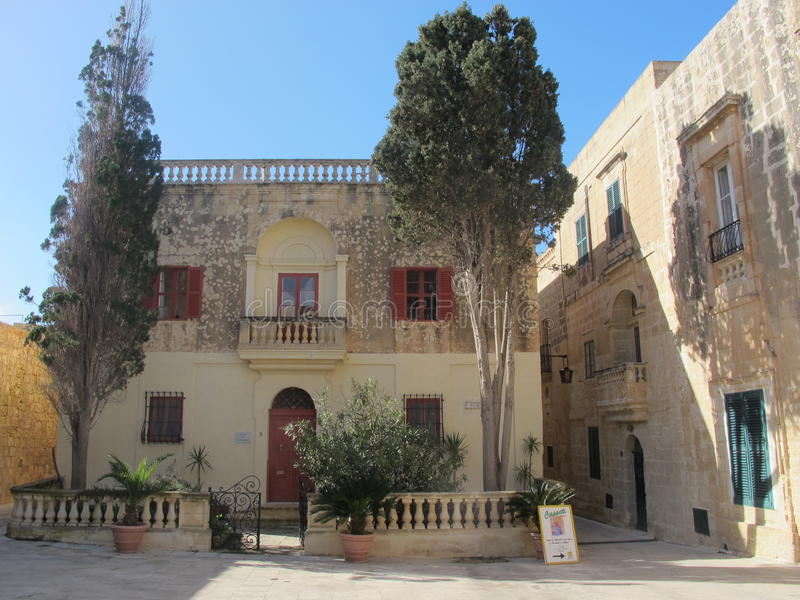 Mdina Μάλτα στοκ εικόνες