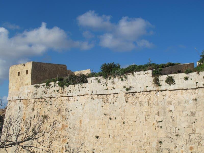Mdina Μάλτα στοκ εικόνα
