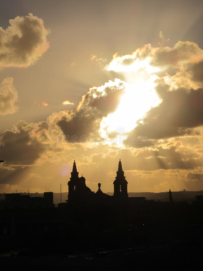 Mdina Μάλτα στοκ φωτογραφία με δικαίωμα ελεύθερης χρήσης