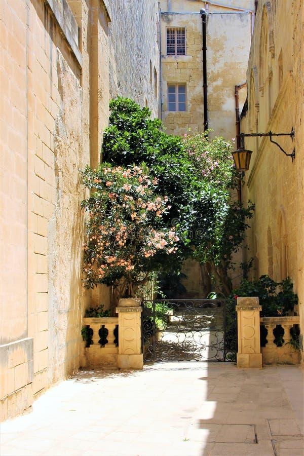 Mdina, Мальта, июль 2014  стоковые фото