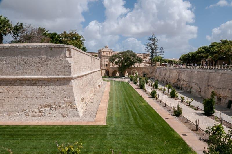 Mdina Malta royaltyfri foto