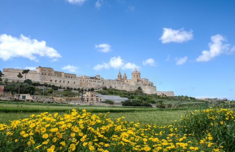 Mdina, Malta royalty-vrije stock afbeeldingen