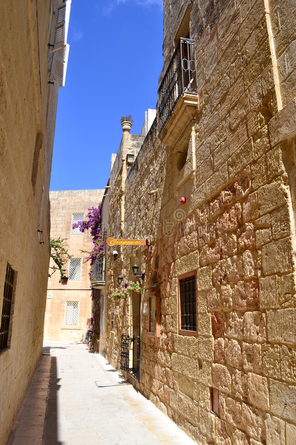 Mdina, Malta stock images