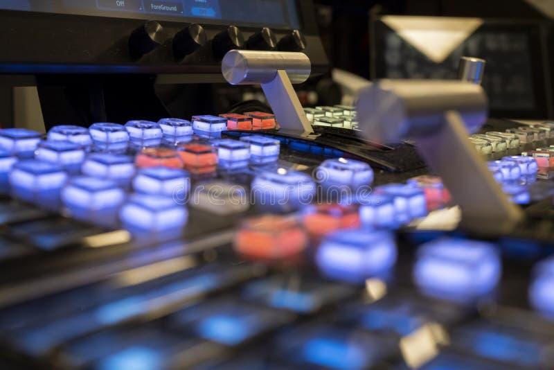 ME2 Żyją Switcher Wideo melanżer dla przedstawień i telewizji zdjęcie royalty free