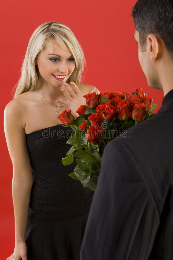They are for me? stock photos