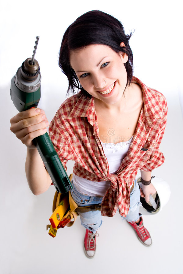 Free Me And My Drill Stock Photo - 2168750