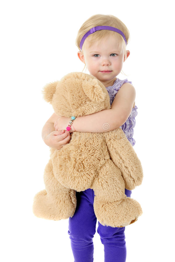 Free Me And My Teddy Royalty Free Stock Image - 54855126