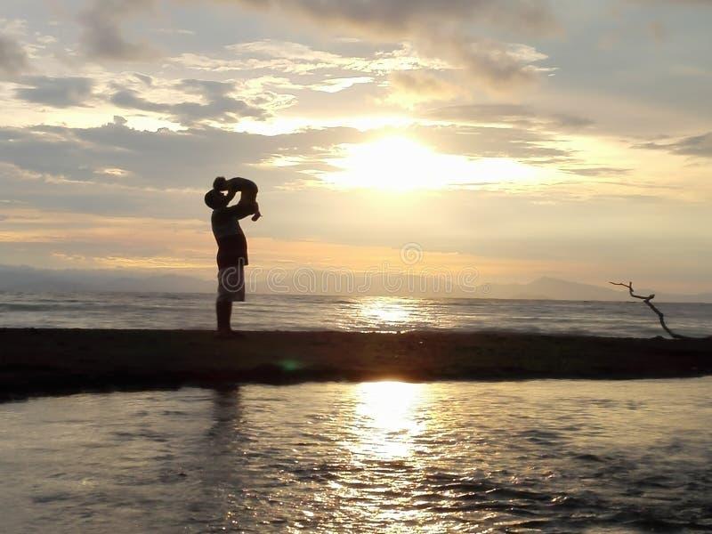 Me ed il mio amore bby fotografia stock libera da diritti