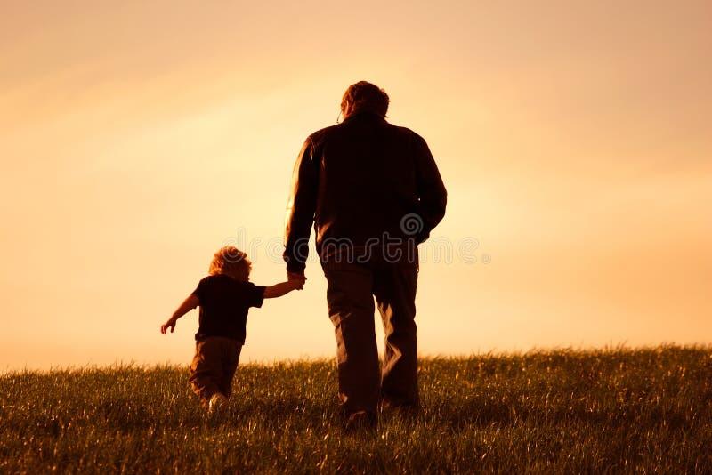 Me ed il mio papà fotografia stock libera da diritti