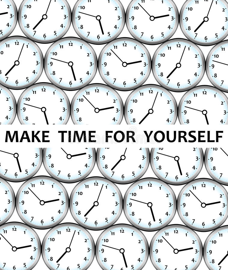 Download Me time stock illustration. Image of calm, leisure, health - 21656929