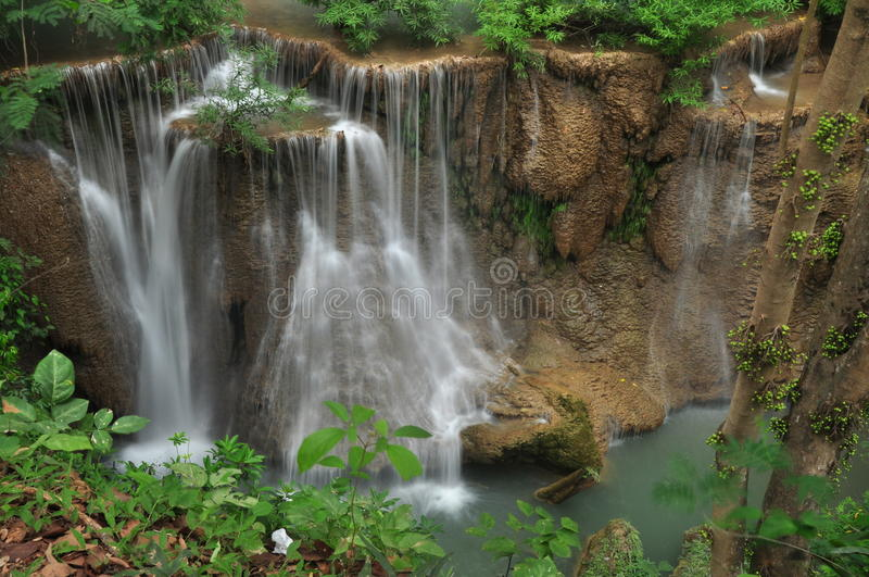 Download Mea-Kamin waterfall. stock image. Image of flowing, clean - 25419345