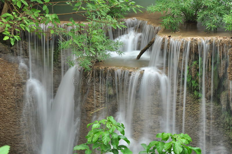Download Mea-Khamin Waterfall. Stock Image - Image: 26905301
