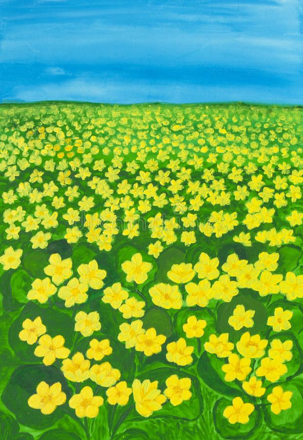 Meadow with buttercups stock illustration illustration of download meadow with buttercups stock illustration illustration of illustration 111402437 mightylinksfo Image collections
