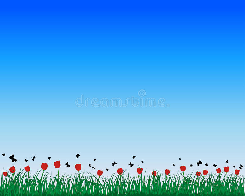 Download Meadow Silhouettes Stock Photography - Image: 23592932