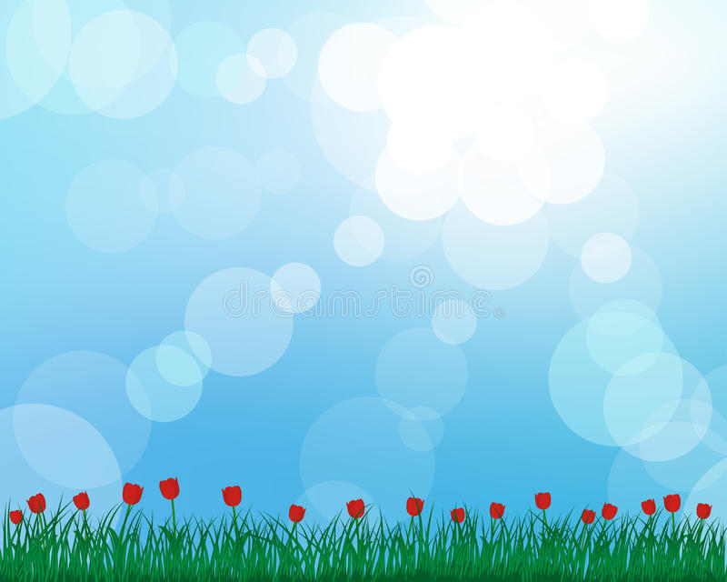 Download Meadow Silhouettes Stock Photography - Image: 24367852