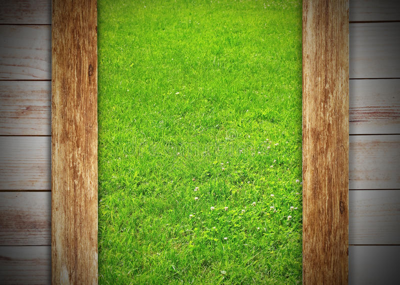 Download Meadow in window stock photo. Image of exterior, brown - 26032770