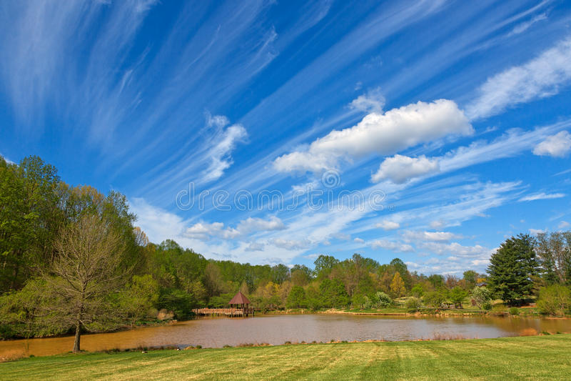 Meadowlark Gardens stock photo