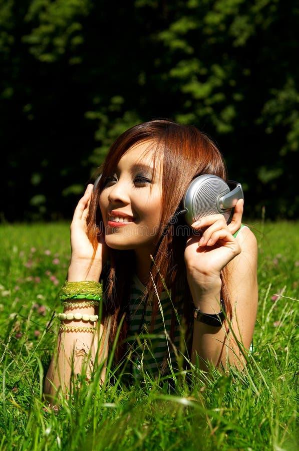 meadows dziewczyn. zdjęcia stock