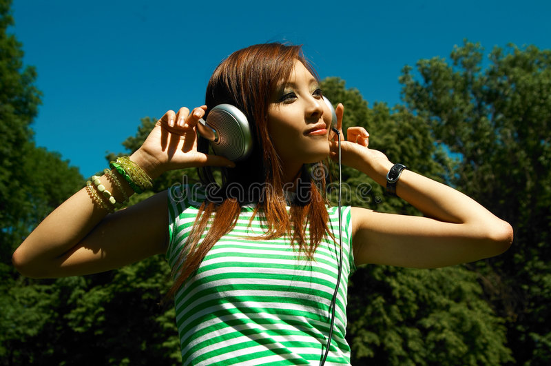 meadows dziewczyn. zdjęcie stock