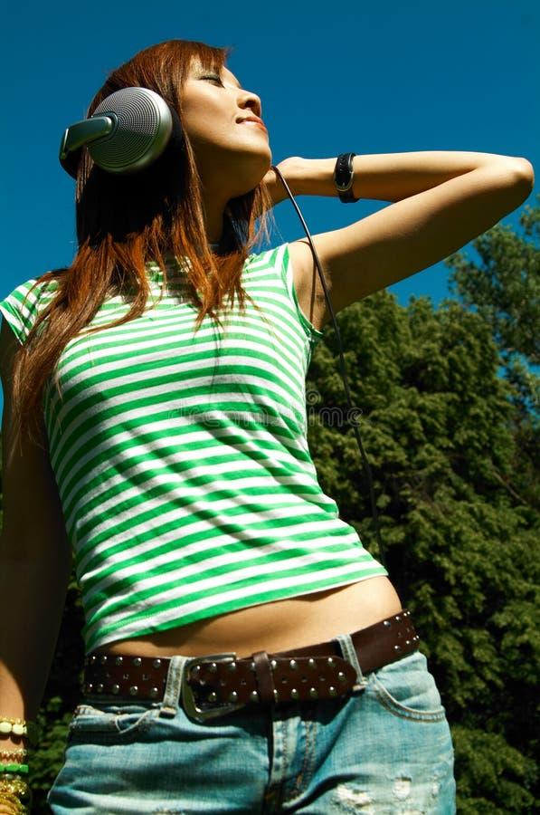 meadows dziewczyn. zdjęcia royalty free