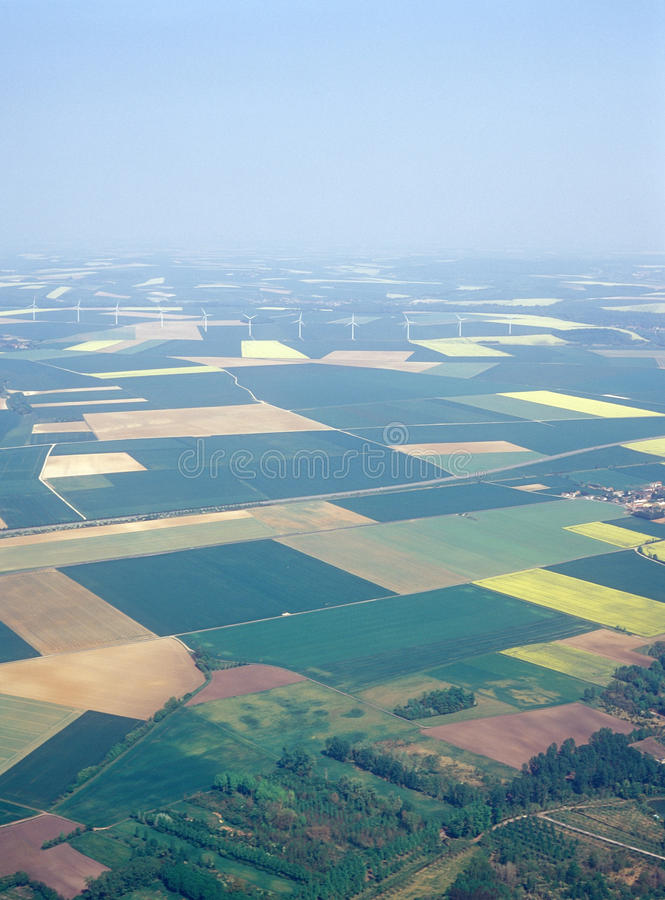 Download Meadows And Fields. Aerial Image. Stock Photo - Image: 20032838