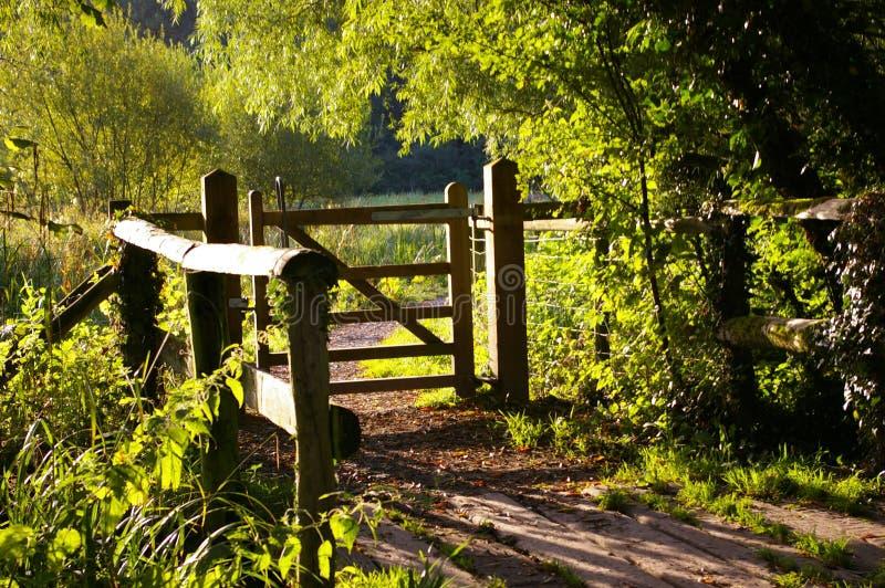 meadows smallbrook bramę obrazy stock