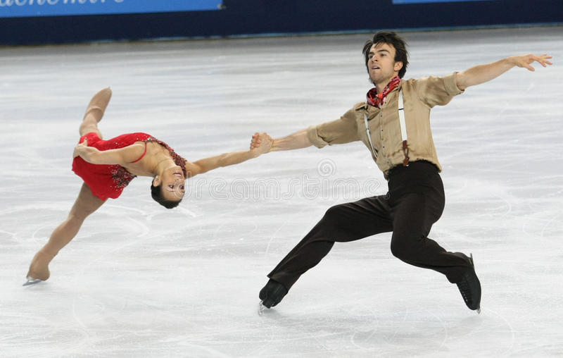 Meagan DUHAMEL/Eric RADFORD (POUVEZ) photos stock