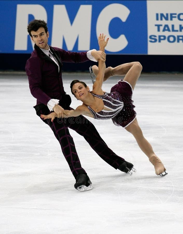 Meagan DUHAMEL Erick/RADFORD (MOŻE) zdjęcie royalty free