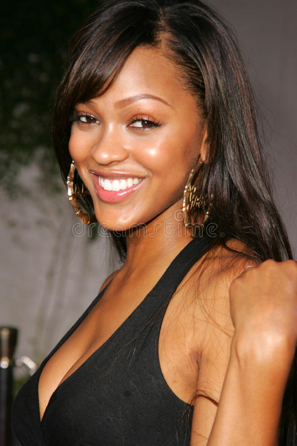 Download Meagan Good editorial stock image. Image of dome, hollywood - 30011809