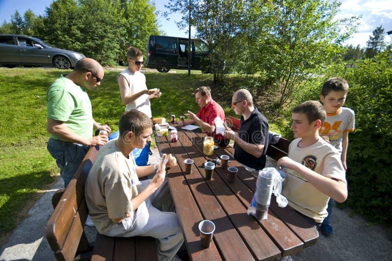 Download Meal break stock image. Image of table, boys, caucasian - 10146479