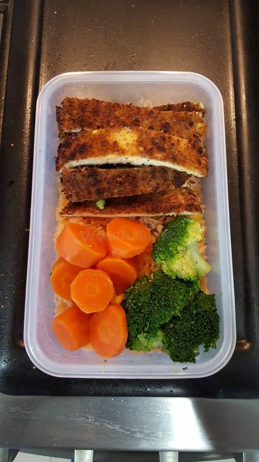 Meal Prep stock photo