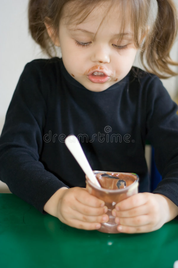 Meal time stock photo