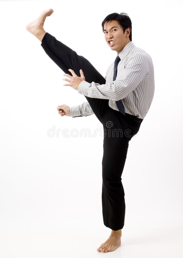 Mean Business Stock Photography