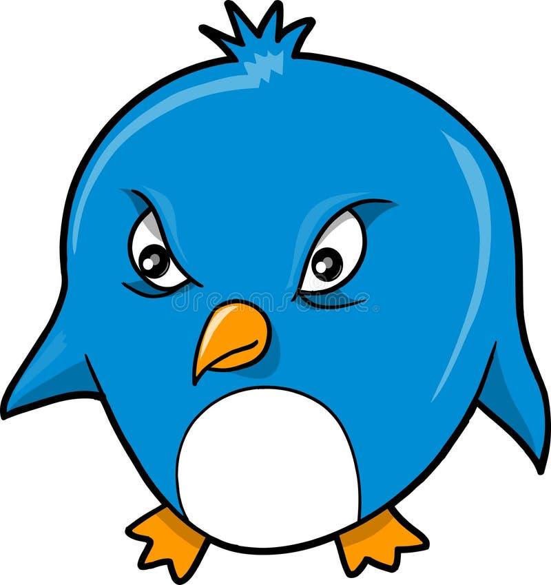 Download Mean Evil Penguin Vector stock vector. Image of wildlife - 9205523